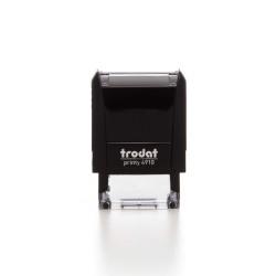 TRODAT PRINTY 4910 (1 - 2 σειρές) (25x8mm)
