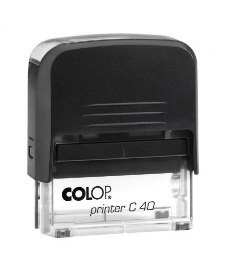 COLOP C40 ( 1 - 7 σειρές ) (59x23mm)