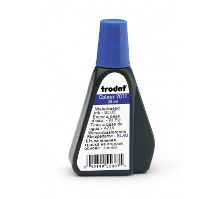 Μπλε Μελάνι Αυτόματης Σφραγίδας TRODAT  7011  (&  Ξύλινης)