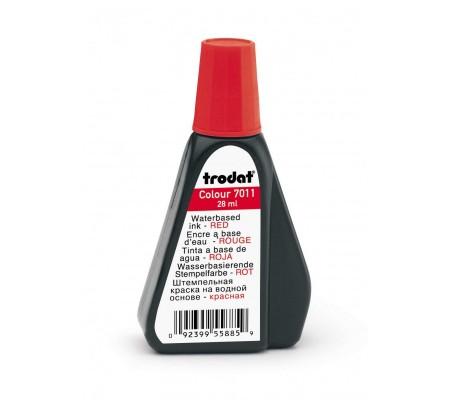 Κόκκινο Μελάνι Αυτόματης Σφραγίδας TRODAT  7011  (&  Ξύλινης)